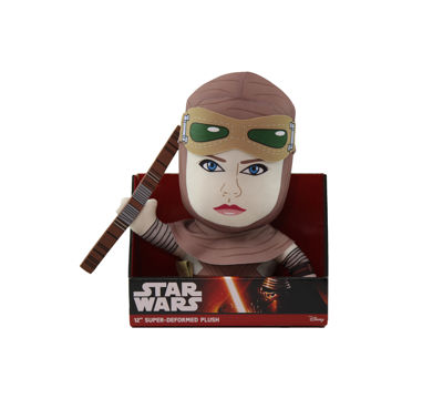 "Comic Images Large 12"" Super-Deformed Plush Star Wars Rey"""
