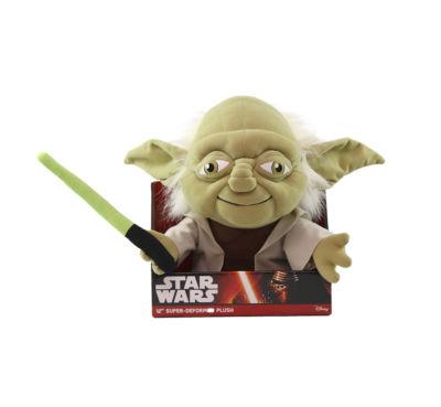 "Comic Images Large 12"" Super-Deformed Plush Star Wars Yoda"""