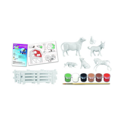 Breyer Stablemates My Dream Horsepaint Your Own Farm - 6 Animals