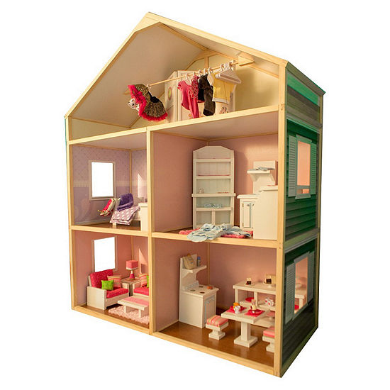 My Girls 6 Tall Dollhouse For 18 Dolls Country French Style