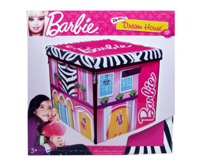 Neat-Oh!® Barbie™ ZipBin® 40 Doll Dream House Toy Box & Playmat