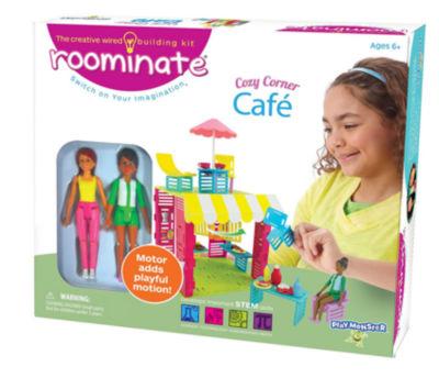 Roominate Cozy Corner Café Wired Building Kit (STEM)