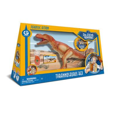 Geoworld Dr. Steve Hunters Large Jurassic Action T. Rex
