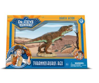 Geoworld Dr. Steve Hunters Medium Jurassic ActionT. Rex