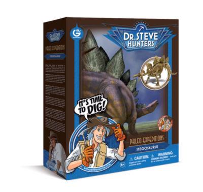 Geoworld Dr. Steve Hunters Paleo Expeditions DinoExcavation Kit - Stegosaurus