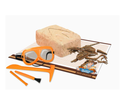 Geoworld Dr. Steve Hunters Paleo Expeditions DinoExcavation Kit - Velociraptor