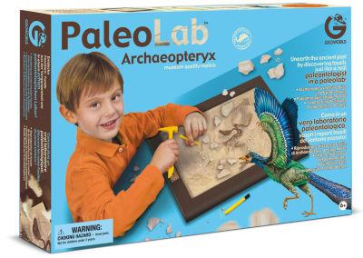 Geoworld Paleo Lab Archaeoptery Fossil Replica Paleontologist Kit
