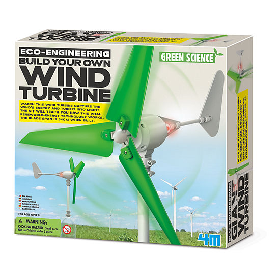 4m Build Your Own Wind Turbine Electronic Learning