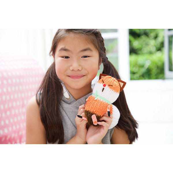 4m Knitting Fox Interactive Toy - Unisex