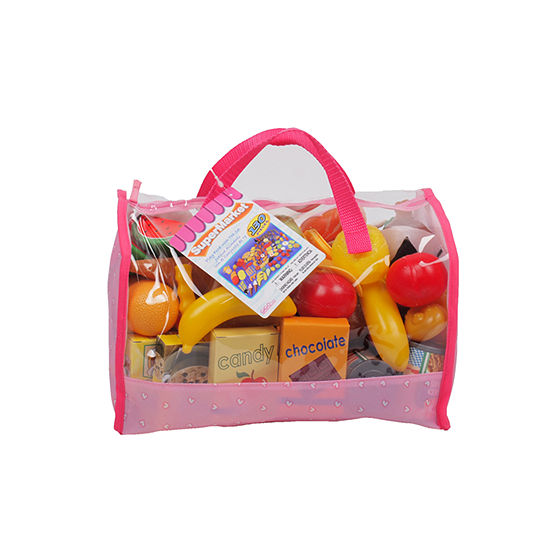 Play Food In Carry Bag (120 Piece)