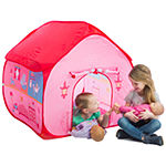Pop-It-Up Dollhouse Tent With House Playmat Playhouse