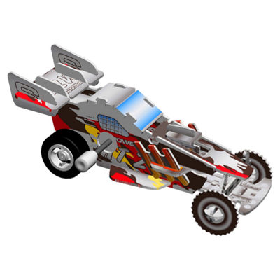 Smithsonian 3D Motorized Puzzles - Vehicle 3 Pack
