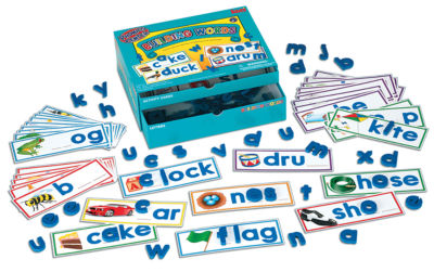 LAURI Educational Phonics Kit - Building Words