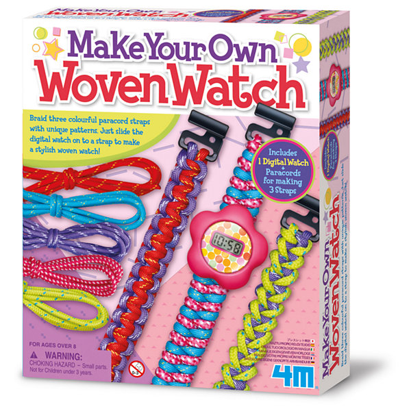 4M Make Your Own Woven Watch Kit