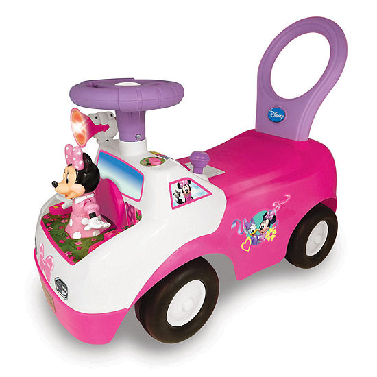 Disney Collection Minnie Mouse Dancing Activity Interactive Ride On Car With Sounds
