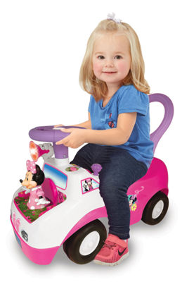 Disney Minnie Mouse Ride-On Car