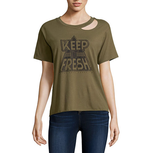 "Arizona ""Keep it Fresh"" Graphic T-Shirt- Juniors"
