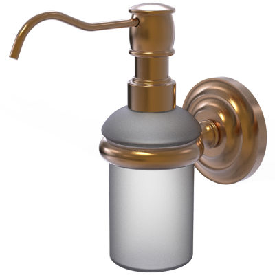 Allied Brass Prestige Que New Collection Wall Mounted Soap Dispenser