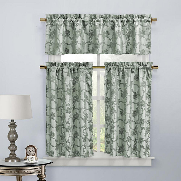 Duck River Gala 3-pc. Kitchen Curtain Set