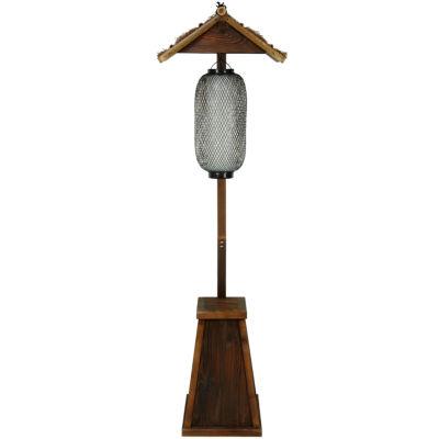 Oriental Furniture Shinto Bamboo Decorative Lantern