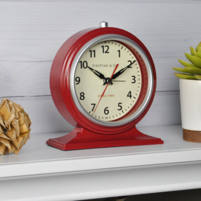 FirsTime® Colorfully Awake Tabletop Clock