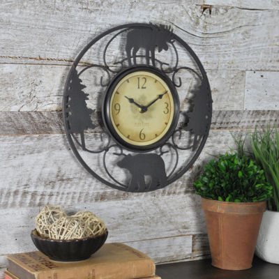 FirsTime® Wildlife Wire Wall Clock