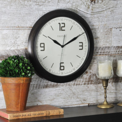 FirsTime® Linen Whisper Wall Clock
