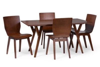 Baxton Studio Elsa 5-pc. Dining Set