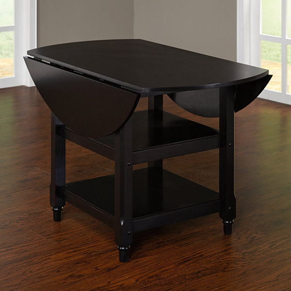 Cottage Wood-Top Dining Table
