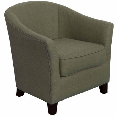 Shirley Contemporary Linen Fabric Chair