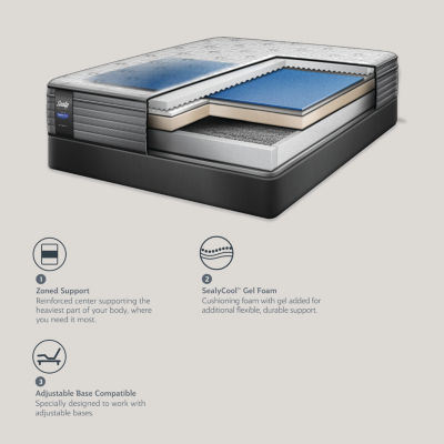 Sealy® Pencrest LTD Cushion Firm Eurotop - Mattress Only