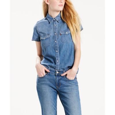 Levi's Short Sleeve Larissa Western Shirt