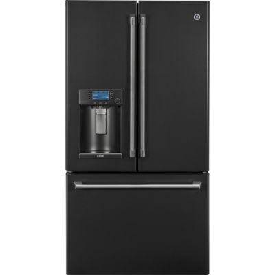 GE Cafe´™ Series ENERGY STAR® 22.2 Cu. Ft. Counter-Depth French-Door Refrigerator with Keurig® K-Cup® Brewing System