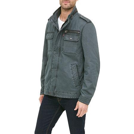 Levi's Men's Military Jacket, Medium , Blue