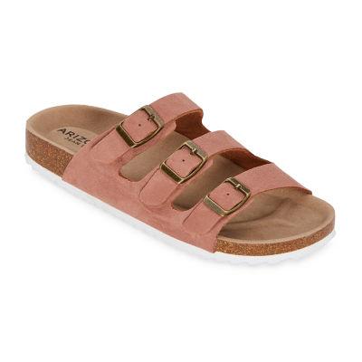 Arizona Freya Womens Adjustable Strap Footbed Sandals