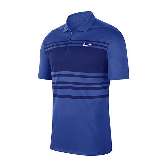 Nike Dri-Fit Essential Chest Stripe Mens Short Sleeve Polo Shirt