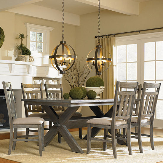 Haverford Collection 7-pc. Rectangular Dining Set