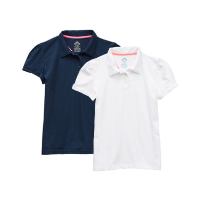 Thereabouts Little & Big Girls 2-pc. Short Sleeve Polo Shirt