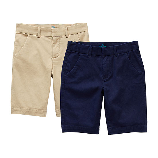 Thereabouts Little & Big Girls 2-pc. Stretch Bermuda Short