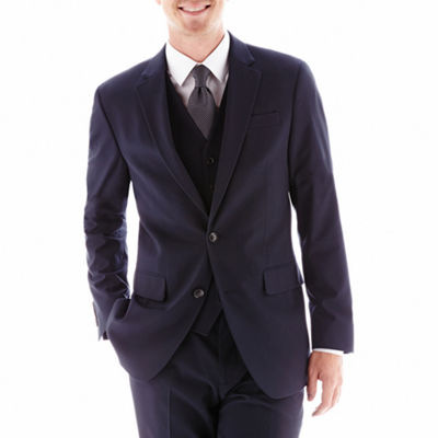 JF J. Ferrar® Stretch Gabardine Suit Jacket - Classic Fit