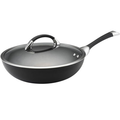 "Circulon® Symmetry 12"" Covered Stir-Fry Pan"