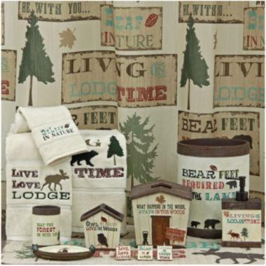 jcpenney.com | Bacova Live Love Lodge Bath Collection