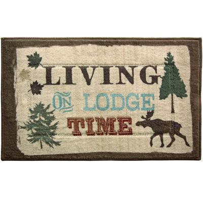 Bacova Live Love Lodge Bath Rug
