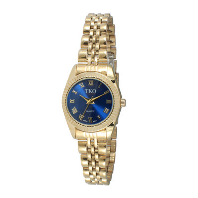 TKO ORLOGI Womens Blue Dial Petite Bracelet Watch