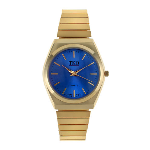 TKO ORLOGI Womens Blue Dial EZ Flex Expansion Bracelet Watch