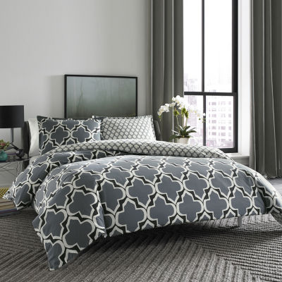City Scene Brodie Geometric Comforter Set