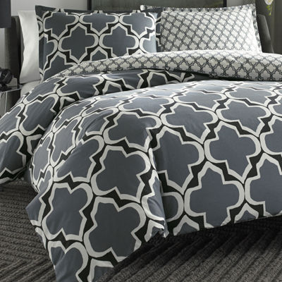 City Scene Brodie Geometric Duvet Cover Set