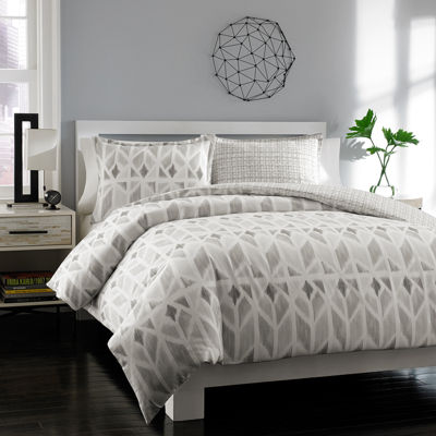 City Scene Grayson Geometric Duvet Cover Set