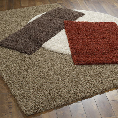 This Review Is FromJCPenney Home™ Renaissance Washable Shag Rug Collection.