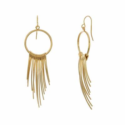 Natasha Gold-Tone Spike Earrings